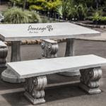 Concrete Table sets