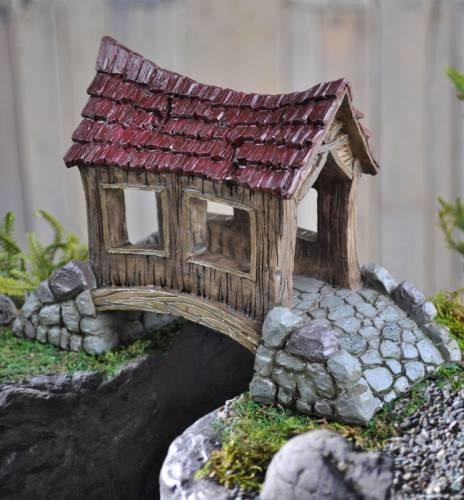 Stoneage Fairy Garden Bridge