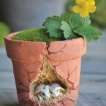 Bunnies Flowerpot - 9912