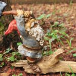 Gnome Chopping Wood - 8359