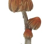 Mushrooms with birds - 8104