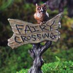 Owl sign - 17232