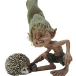 Pixie with Hedgehog -8523