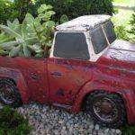 Rustic Red Truck - PRRT