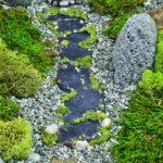 Slate-moss pathway - 16484