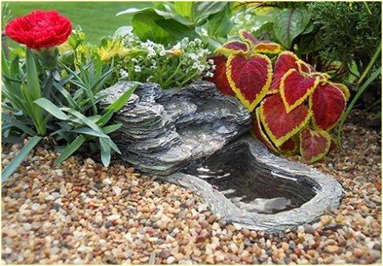 Products miniature fairy garden fairy pondsstoneage for Pond decoration ideas