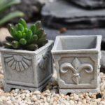 Square pots (2) - 16489