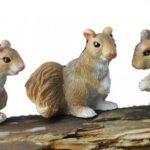 Squirrels (3) - 17266