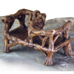 Twig courting bench - 17223